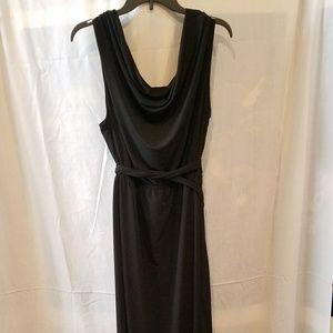 Avenue   Open Back Black Dress 22/24